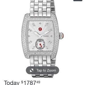 Accessories - Michele Urban Mini Diamond Watch
